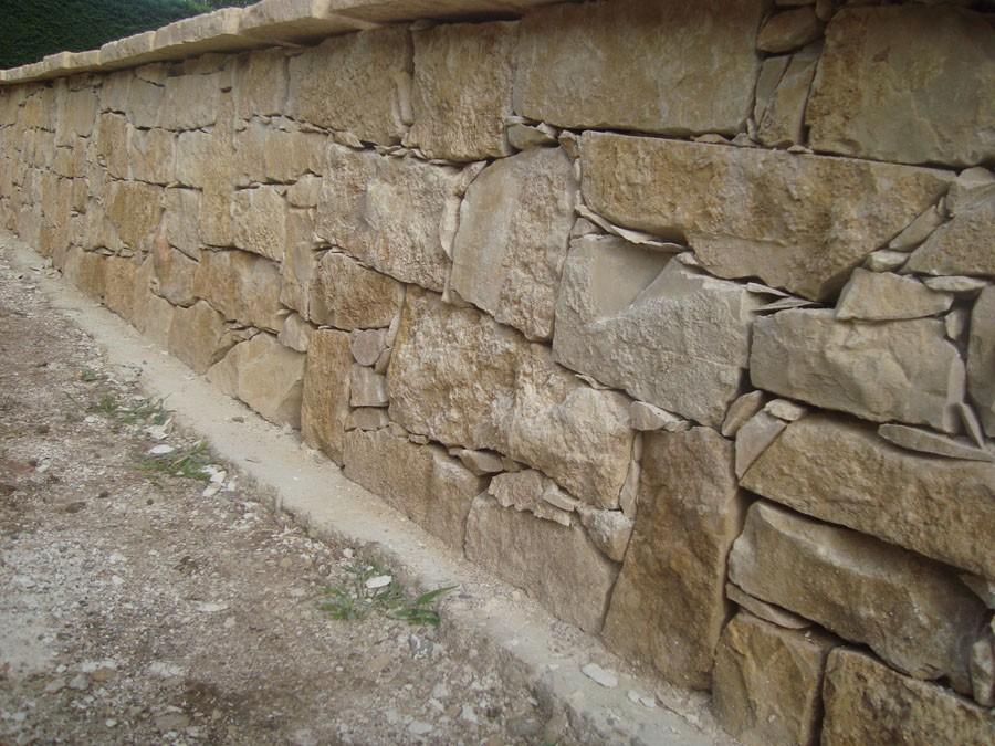 muret en pierres s ches en alsace murs murets et murs grillag s. Black Bedroom Furniture Sets. Home Design Ideas