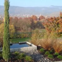 jardins contemporain dans le haut rhin